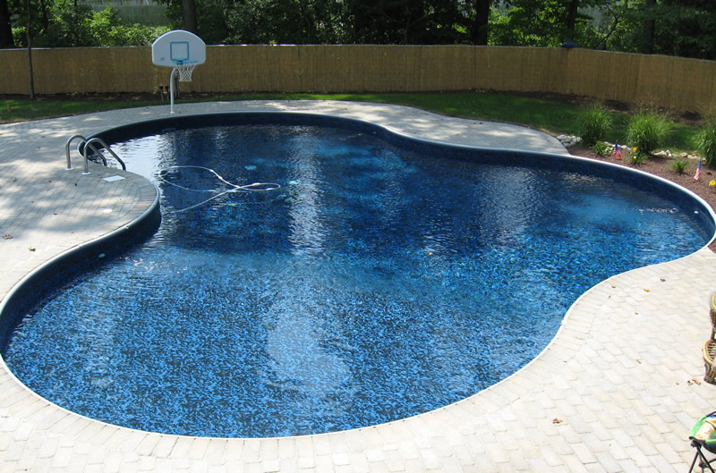We have a variety of vinyls to choose from for your for Vinyl inground pool